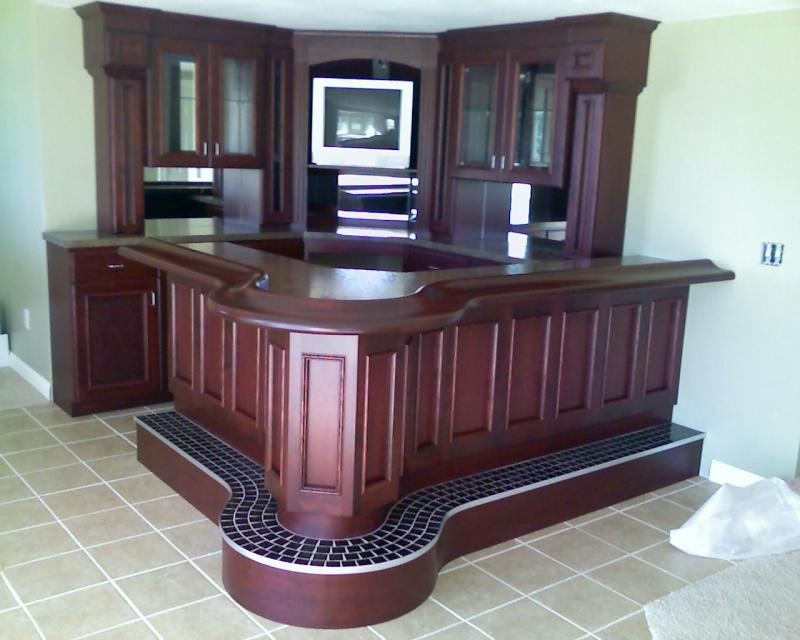 Milwaukee Woodwork - Custom Home Bars