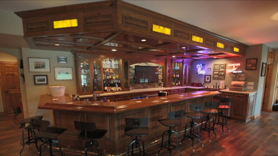 Beau Custom Irish Home Bar